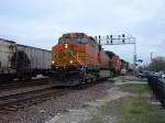 BNSF 4069 & 4187 & UP 6783